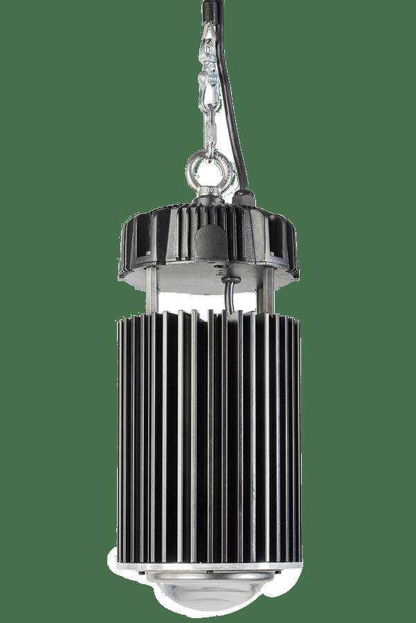 luminarias industriales led con lámparas de noventa grados de apertura