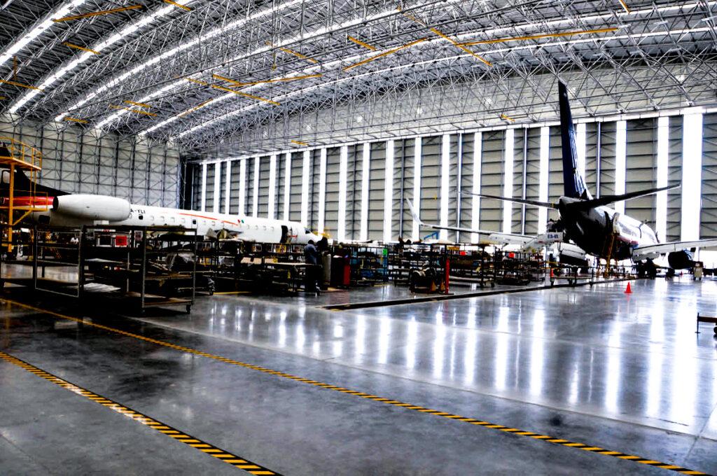 Excelentes proyectos de iluminacion industrial para aeropuertos