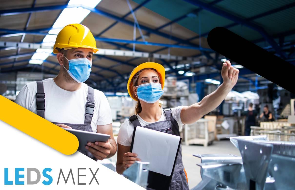 La iluminación industrial como parte de la seguridad en el trabajo