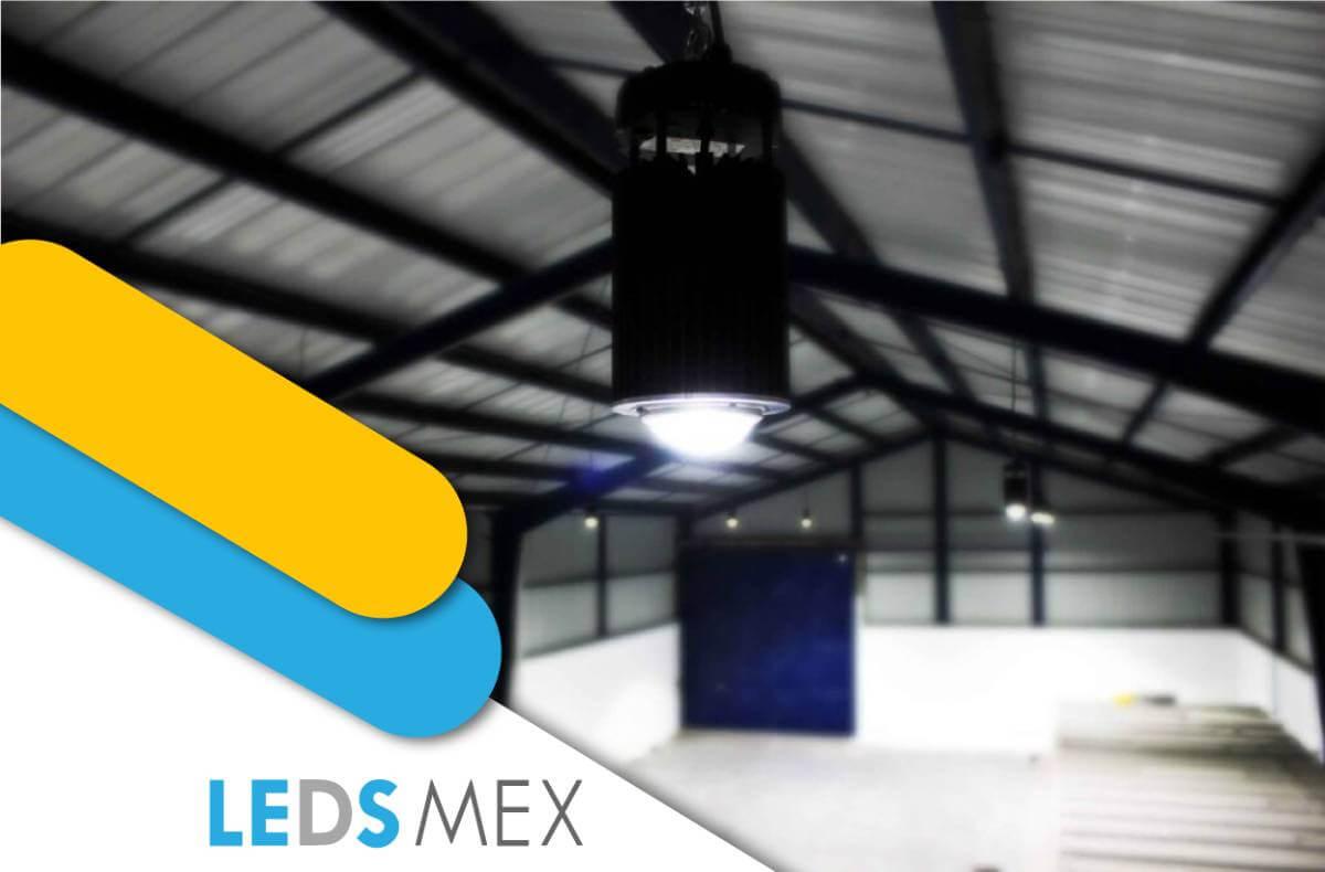 Diseño y eficiencia de una luminaria Ledsmex