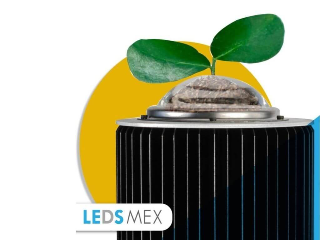 Emisión de CO2 de una luminaria Ledsmex